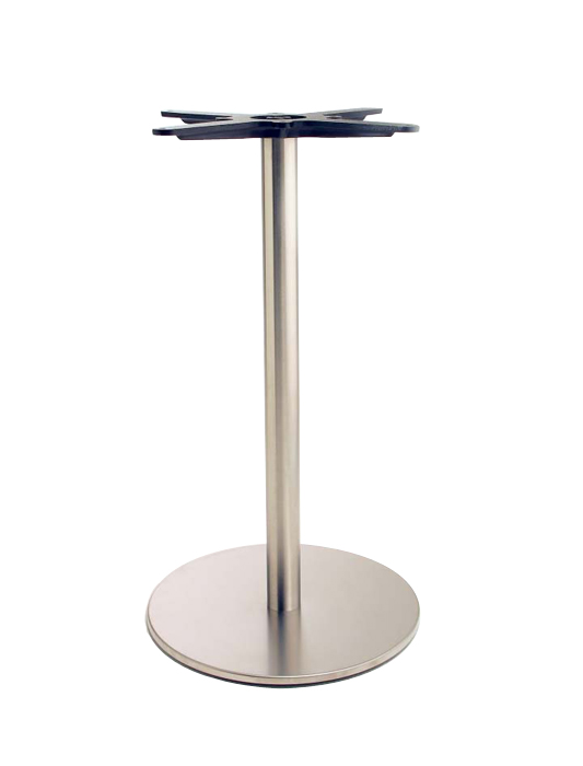 Pied de table inox pedrali - Pied de table en inox ...