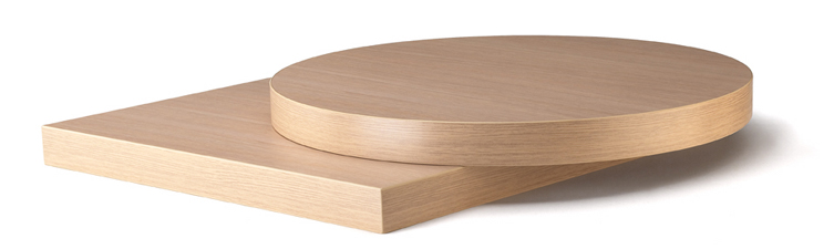 plateau stratifi 60x60cm 3035 pedrali. Black Bedroom Furniture Sets. Home Design Ideas