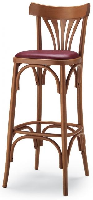 tabouret de bar bistrot assise rembourr e. Black Bedroom Furniture Sets. Home Design Ideas