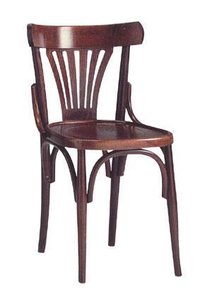Chaise bistrot en bois bistrot - Chaise bistrot bois metal ...
