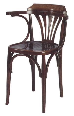 fauteuil bois bistrot. Black Bedroom Furniture Sets. Home Design Ideas